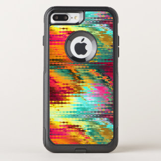 Liquid Abstract Rainbow OtterBox Commuter iPhone 8 Plus/7 Plus Case