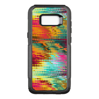 Liquid Abstract Rainbow OtterBox Commuter Samsung Galaxy S8+ Case