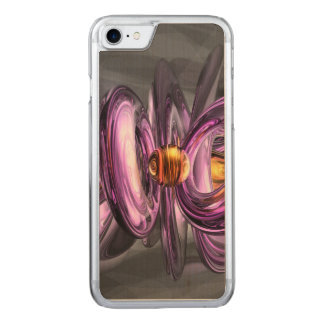 Liquid Amethyst Abstract Carved iPhone 7 Case