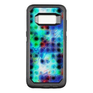 Liquid Blue Dots OtterBox Commuter Samsung Galaxy S8 Case