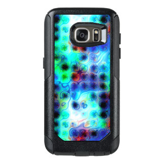 Liquid Blue Dots OtterBox Samsung Galaxy S7 Case