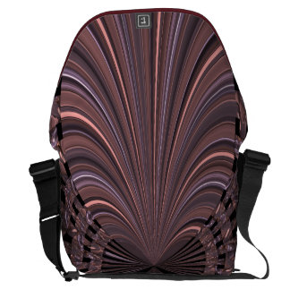 Liquid Clam Shell Messenger Bag