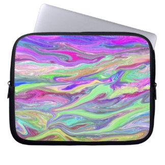 Liquid Color Electronics Bag