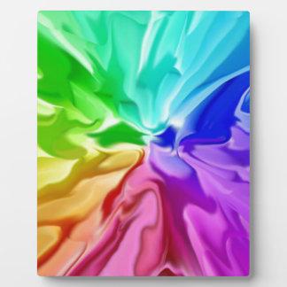 Liquid Colour Plaque
