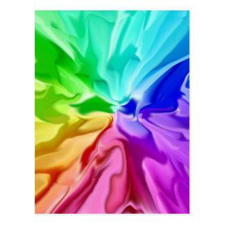 Liquid Colour Postcard