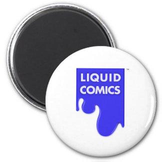 LIQUID COMICS MAGNET