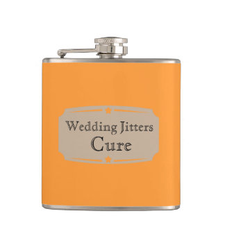 Liquid Courage Wedding Jitters Cure Hip Flask