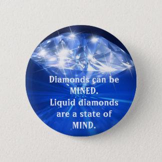 Liquid Diamonds Button