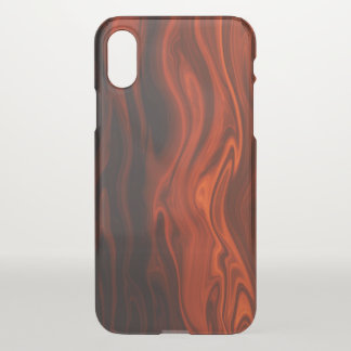 Liquid Fire by Shirley Taylor iPhone X Case