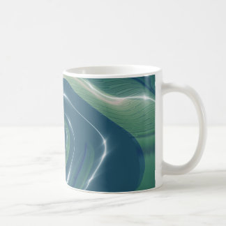Liquid Gnarly Fractal Coffee Mug