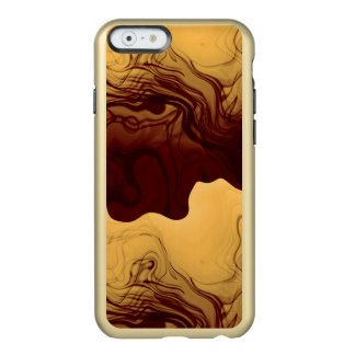 Liquid Gold Abstract Incipio Feather® Shine iPhone 6 Case