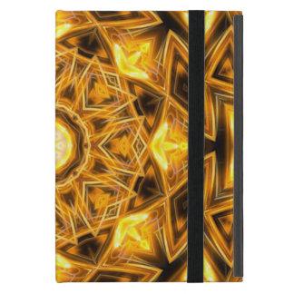 Liquid Gold Mandala Case For iPad Mini