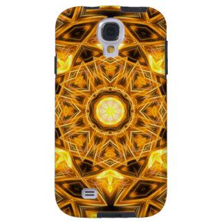 Liquid Gold Mandala Galaxy S4 Case