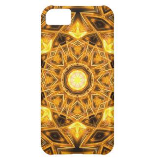 Liquid Gold Mandala iPhone 5C Case