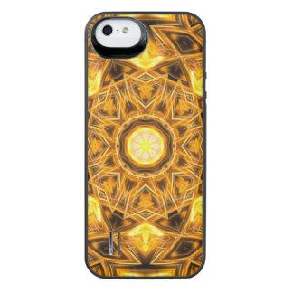 Liquid Gold Mandala iPhone SE/5/5s Battery Case