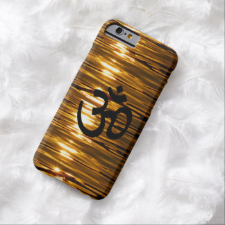 Liquid Gold with Om Symbol iPhone 6 Case