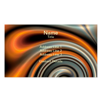 Liquid Mercury and Rust 2 Pack Of Standard Business Cards