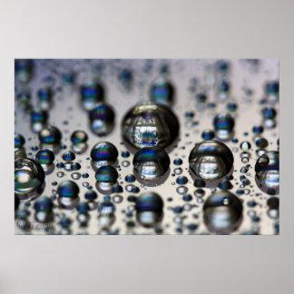 Liquid Mercury Poster