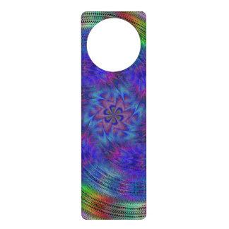 Liquid rainbow door knob hanger