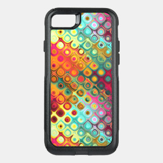 Liquid Rainbow Dots OtterBox Commuter iPhone 8/7 Case