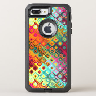 Liquid Rainbow Dots OtterBox Defender iPhone 8 Plus/7 Plus Case