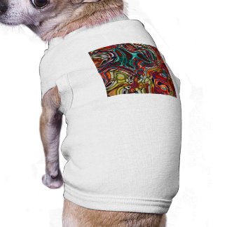 Liquid Sci-Fi Abstract Pet Shirt