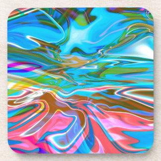 Liquid Texture Coaster
