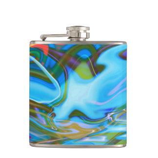 Liquid Texture Hip Flask