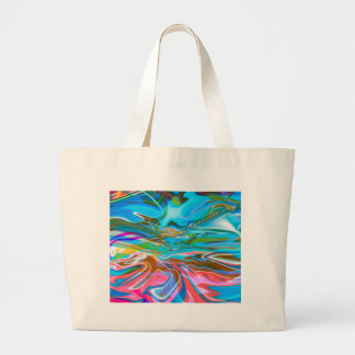 Liquid Texture Large Tote Bag