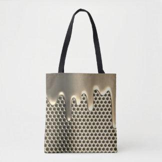 Liquid Titanium design tote bags