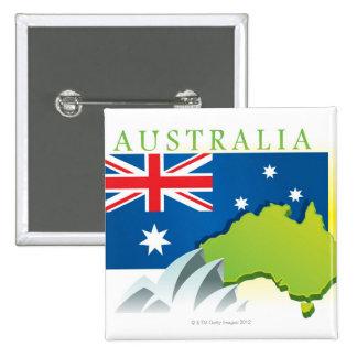 LiquidLibrary 4 15 Cm Square Badge