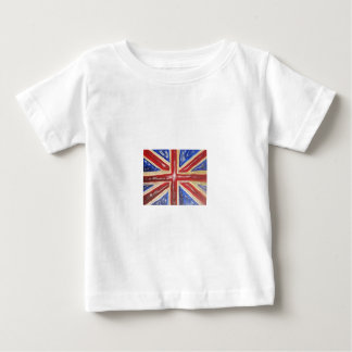 Liquified Union Jack Baby T-Shirt