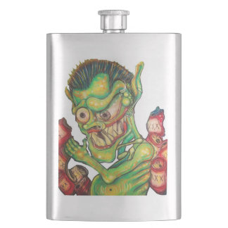 Liquor Demon Hip Flask