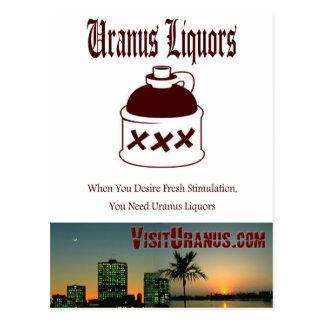 Liquor Store Postcard