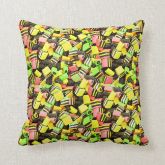Liquorice Allsorts Sweet Candy Cushion
