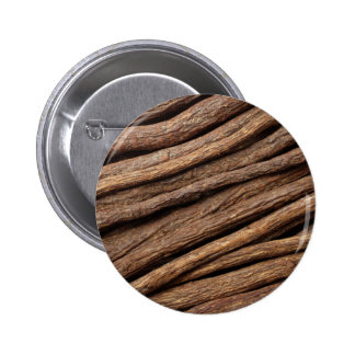 Liquorice root 6 cm round badge