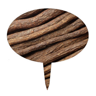 Liquorice root cake toppers