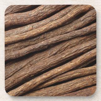 Liquorice root coasters