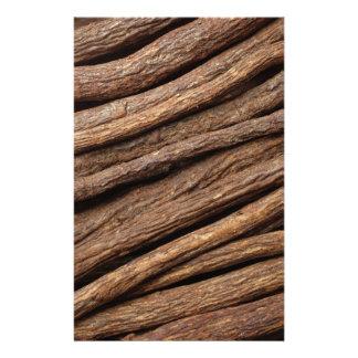 Liquorice root custom stationery