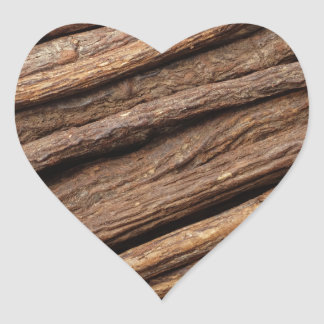Liquorice root heart sticker