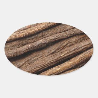 Liquorice root oval sticker