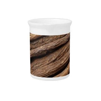 Liquorice root pitcher