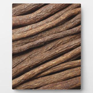 Liquorice root plaque