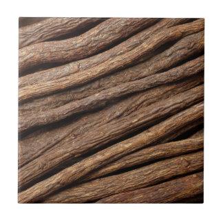 Liquorice root small square tile