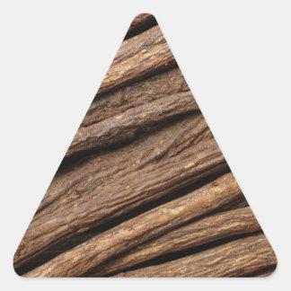 Liquorice root triangle sticker