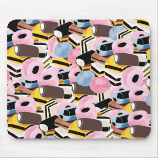 liquorice sweets mouse pad