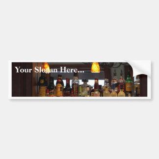 Liquors Bars Bumper Sticker
