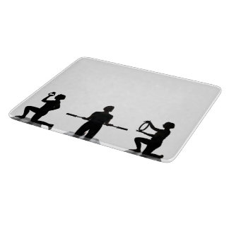 Lisa Carusone Silhouette Glass Cutting Board