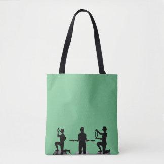 Lisa Carusone Silhouette Tote Bag