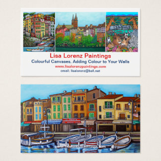 Lisa Lorenz Buisness Cards 3.5 x 2.0 Semi Gloss